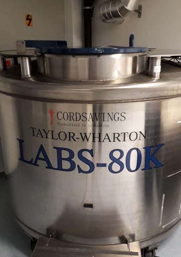 A CordSavings - 5.000 Stem Cell units - cryopreservation tank
